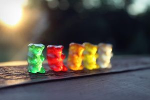 Gummy Bears by Musie951