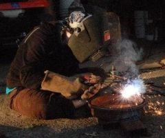 Me Welding by crawlintothesun