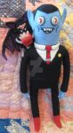 My Needle Felted Hunson Abadeer with Batceline by CatsFeltLings