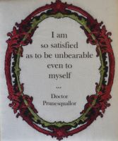 Unbearable Prunesquallor by imagination-heart