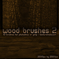Wood Brushes 2 by AscendedArts