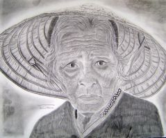Old lady of Hoi An by PatMalzone
