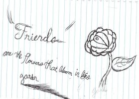Friends Bloom. by raelynn109