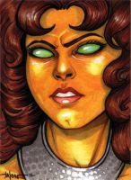 Sketchcard: Starfire by Everwho