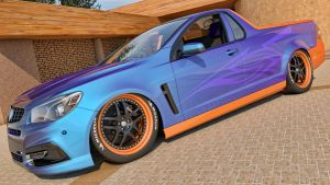 2014 Holden VF Commodore UTE SSV by SamCurry