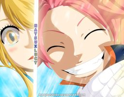 Fairy Tail 419 Nalu by Maxibostero