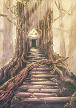 Forest Temple by Pinteezy