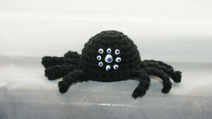 Amigurumi Spider by oywiththeplushies