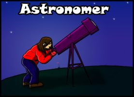 5 of 50 Astronomer Profession by jornas
