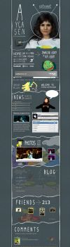Ayca Sen Myspace by CreaSpaces