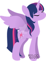 Princess Twilight Sparkle by Danie-me