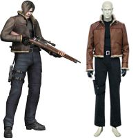 Resident Evil 4 Leon S Kennedy Cosplay Costume by morseedwina