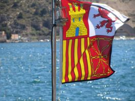 maritime flag of Spanish Republic by dlink97