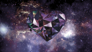 Crystal Space Heart by SplendidDevilNG