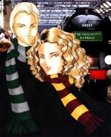 draco and hermione by git2