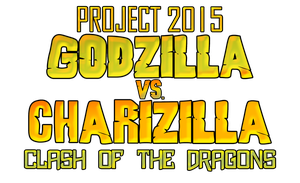 Godzilla vs. Charizilla Logo (REMAKE) by KingAsylus91