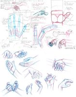 Hand Drawing Notes by TheDracoJayProduct