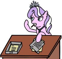Diamond Tiara: Editor-In-Chief by Closer-To-The-Sun