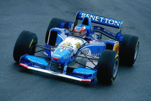 Michael Schumacher (France 1995) by F1-history