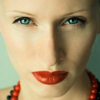 Red lips 3 by milenka