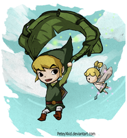Deku Leaf Link by PeteyXkid