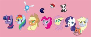 MLP heads and extras by NotJailBait