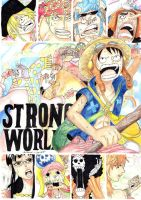 One Piece Strong World by SaraMangaka