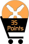 35 Points by TheRedCrown