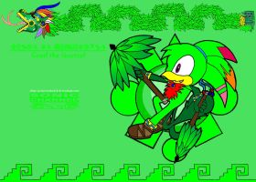 Coatl the Quetzal xXSonic ChannelXx by PrincessShadyk