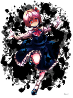 Touhou Rumia without BG by Nsio