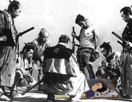 Snow White and the Seven Samurai by DarkCynic