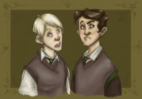Scheming Slytherin by Forbis