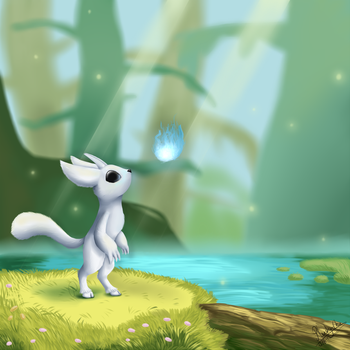 Ori and the Blind Forest by Plushy-Chu