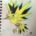 Zapdos by imamarwal