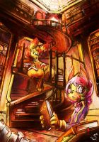 Art Prize: Library of knowledge by ElementBrigade