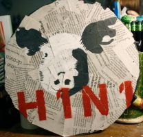 H1N1 - Stencil by PeaceAndLove-axc