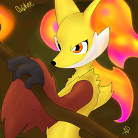 Delphox - The Mystical Fox by TonyFicticium
