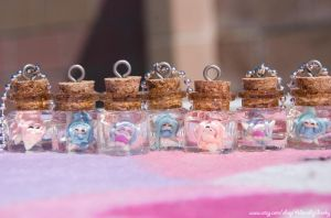 Chibi Fairy Bottles by IvrinielsArtNCosplay