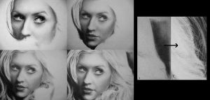 WIP Christina Aguilera by Maggy-P