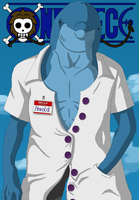 Dr. Harold - Character in the style of One Piece by HappyPixelKitten