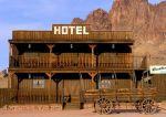 Old Western Hotel by Swanee3