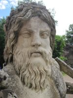The Man in Hadrian's Villa by Capitaine-Jaf