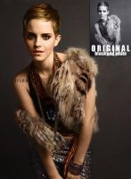 Emma Watson Colorization by iriina