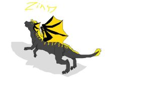 Dragon Zinsy by CanineCriminal