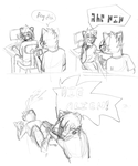 mini comic: aliens amongst my room by Lei-Lei-Svines