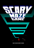 Scary Maze Game Poster by EyeOfSemicolon