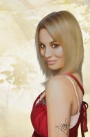 Kaley Cuoco - Digital Painting by evolz01
