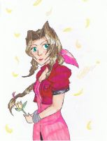 Aeris Gainsborough by TeamAquaSuicune