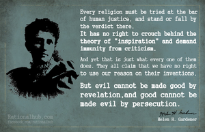 Helen Gardener on criticizing religion.. by rationalhub