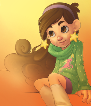 Mabel Pines by omgdance